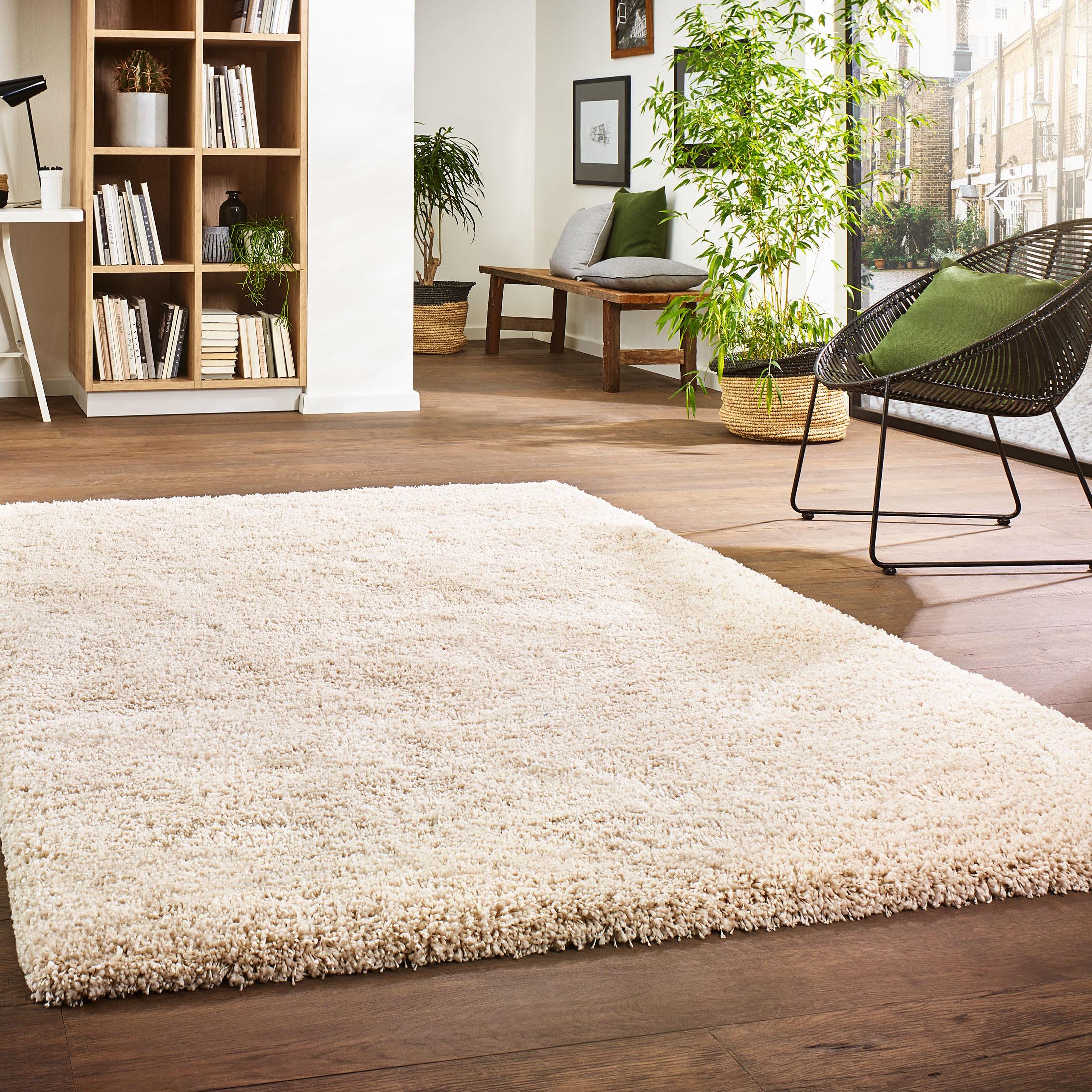 creation langflor teppich von kibek in creme. Black Bedroom Furniture Sets. Home Design Ideas