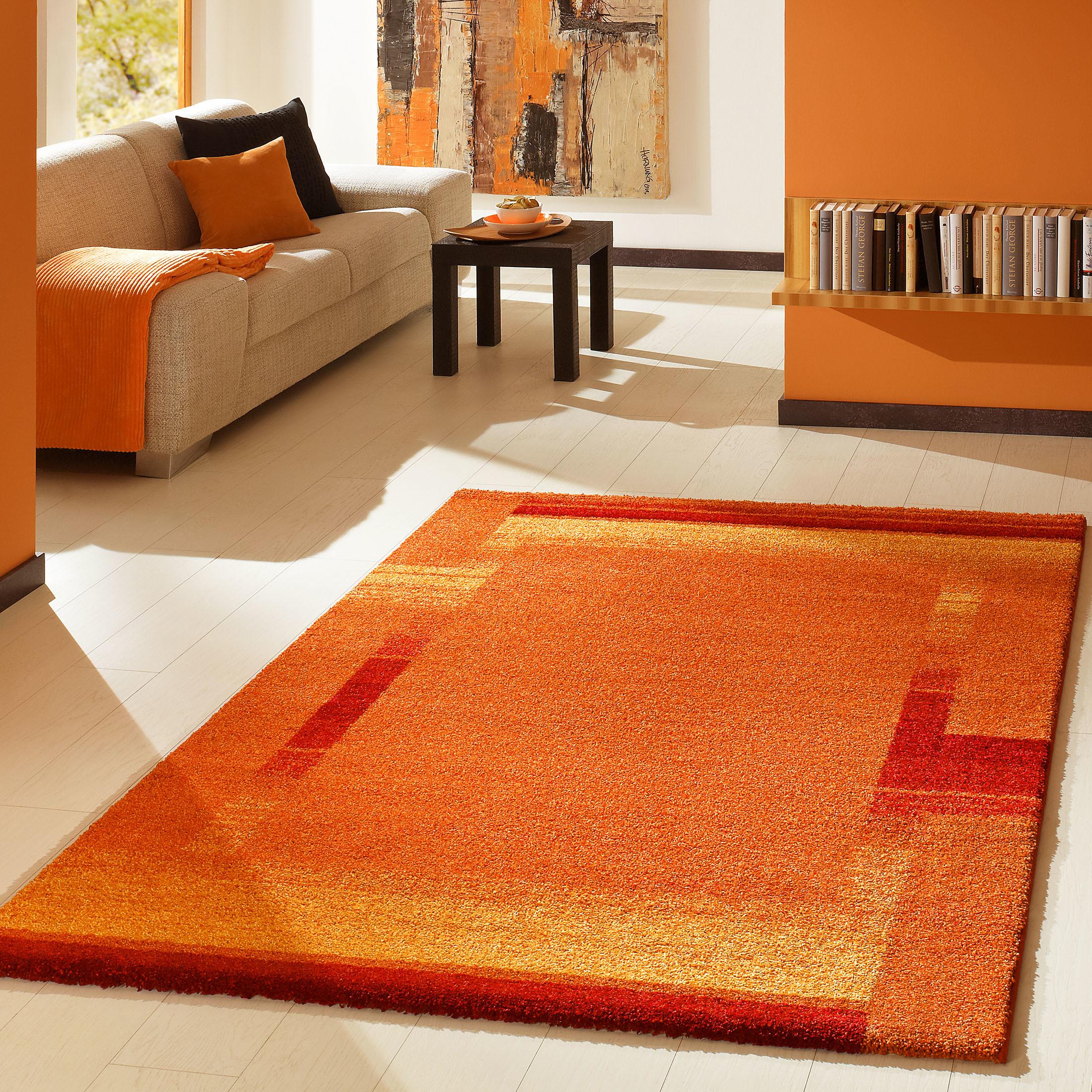 designer teppich von kibek night life in orange 240 x. Black Bedroom Furniture Sets. Home Design Ideas