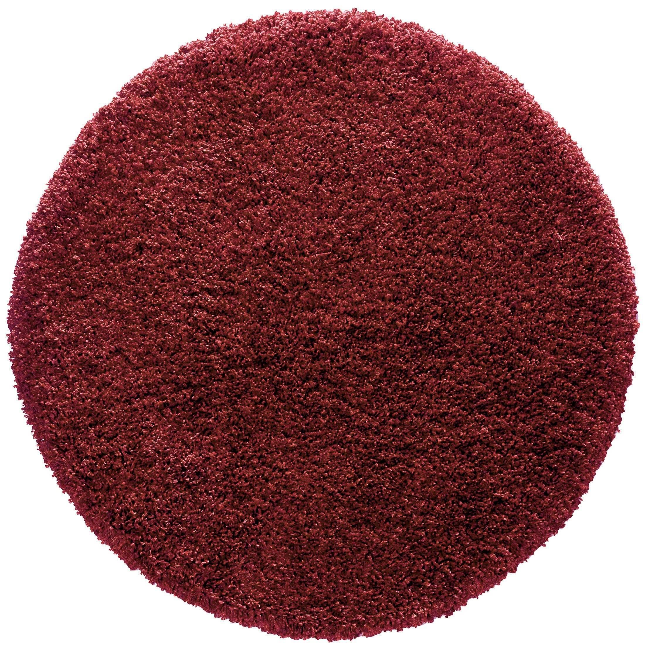 langflor teppich von kibek creation in rot 160 cm. Black Bedroom Furniture Sets. Home Design Ideas
